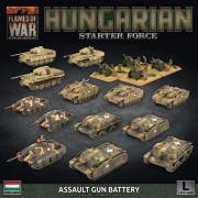 Flames of War - Hungarian Starter Force : Zrinyi Assault Gun Battery