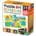 Puzzle 8+1 Dinosaurs 0