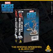 Marvel Crisis Protocol : Spider Man & Black Cat