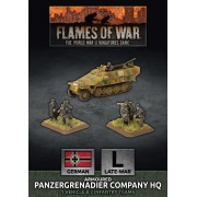 Flames of War - Armoured Panzergrenadier Company HQ