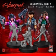 Boite de Cyberpunk Red - Generation Red A