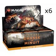 Magic The Gathering - Innistrad : Chasse de Minuit : Lot de 6 Boites de 36 Boosters de Draft (copie)