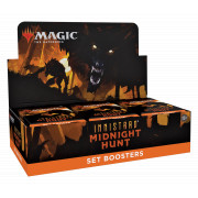 Magic The Gathering - Innistrad : Midnight Hunt Set Booster Display