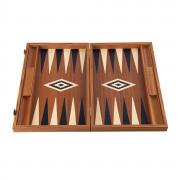 Backgammon 48cm Acajou