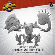 Monsterpocalypse - Protectors - Alternate Elite Units: Chomper, Snatcher, and Reaper