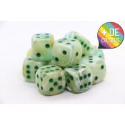 Set of 12 6-sided dice Chessex : Marble