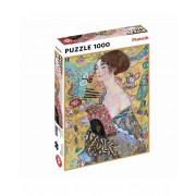 Puzzle - Klimt - Dame à l'Éventail - 1000 pièces