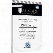 Sleeves Paladin - Percival Double Matte Board game/ CCG - 63.5 x 89 mm - 55p