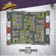 Monsterpocalypse - Carnage Corners Playmat
