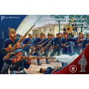Prussian Infantery Advancing 1870-1871