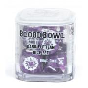 Blood Bowl : Dice Set - Dark Elf Team