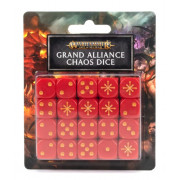 Age of Sigmar : Grand Alliance Chaos - Dice Set