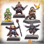 Fantasy Heroes - Classic Halfling Adventurers