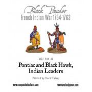 Pontiac & Black Hawk, Indian Leaders