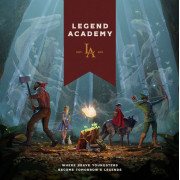 Legend Academy - Deluxe Edition - Gamefound (version anglaise)