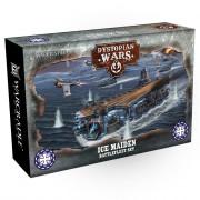 Dystopian Wars: Ice Maiden Battlefleet Set