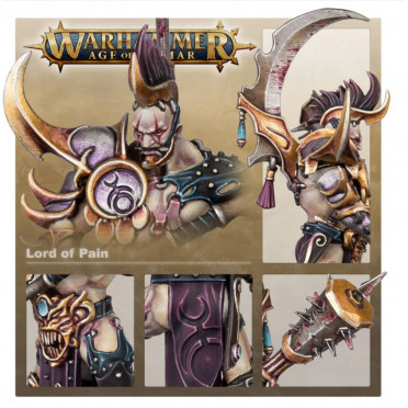 Age of Sigmar : Hedonites of Slaanesh - Lord of Pain