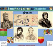 Incredible Courage at Austerlitz : Santon