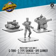 Monsterpocalypse - Protectors - Alternate Elite Units: Carnidon, Exo-Armor, and Assault Ape