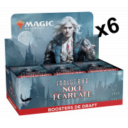 Magic The Gathering : Innistrad : Noce Ecarlate - Lot de 6 Boites de 36 Boosters de Draft