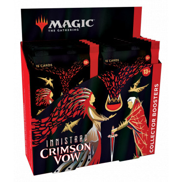 Magic The Gathering : Crimson Vow - Collector Booster Display