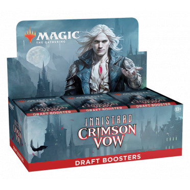 Magic The Gathering : Crimson Vow - Draft Booster Display
