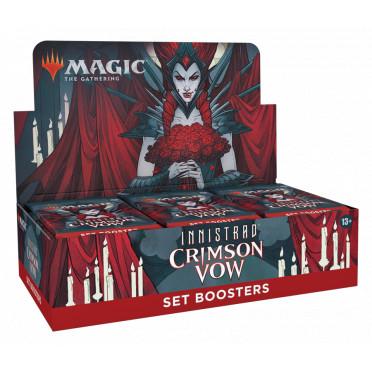 Magic The Gathering : Crimson Vow - Set Booster Display