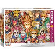 Puzzle 1000 Pièces - Masques Vénitiens