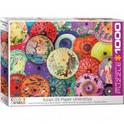 Puzzle - 1000 Pièces  - Parasols Asiatiques