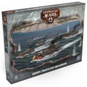 Dystopian Wars: Crown Battlefleet Set